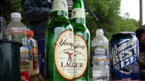 20090703 - X-Day - GEDC0242 - Yuengling's almost lined up - (by Tangent) - please click through to leave a comment on FlickR