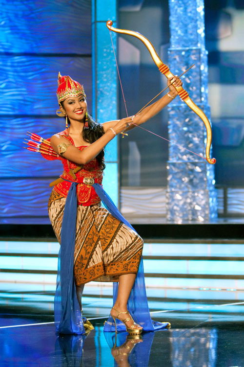 Traje Típico de Miss Indonesia