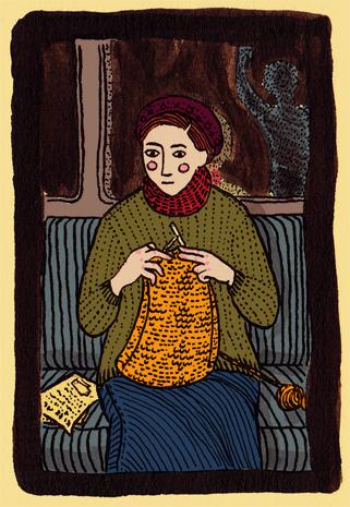 Illustration Friday: Pattern