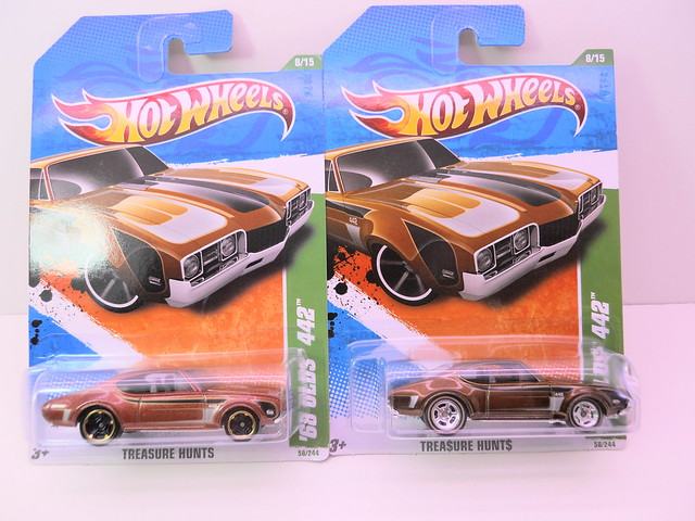 hot wheels treasure hunt group '68 oldsmobile 442