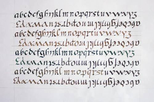 Populaire Je connais mon alphabet | Onciale EV57