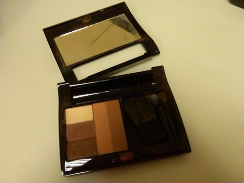 6:07 pm. Getting ready to head out for dinner. (I think I need a new compact)