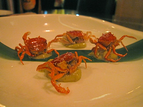 Migas Japanese Live Deep-Fried River Crabs