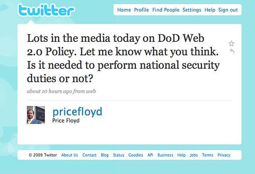 Price Floyd Tweet