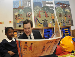 George Osborne visits  Thessaly Community Project