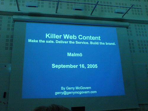 Killer Web Content