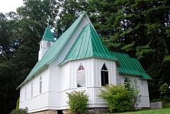 St. John's Episcopal Church in Valle Crucis, NC