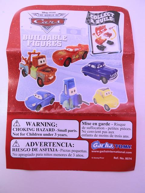 disney cars gacha tomy capsules lightning mcqueen,sally,mater,luigi,guido,doc (2)