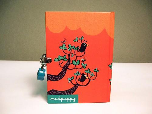Scribbling Monster Diary back cover