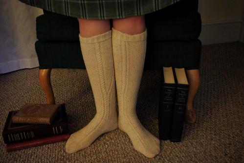 Clessidra Knee Socks