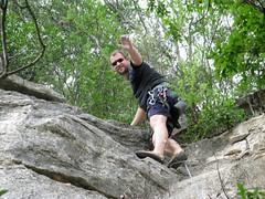 Ken Rock Climbing