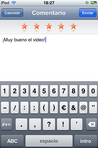 YouTube on OS 3.0 por ti.