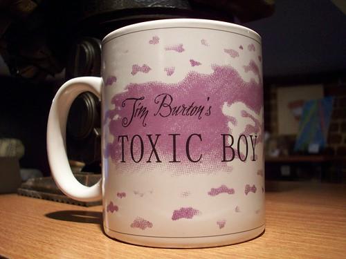 Toxic Boy mug - Tim Burton