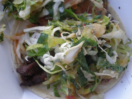 beef short rib taco, Kogi style