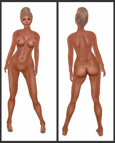 Staged - Elizabeth - Tanned - Body