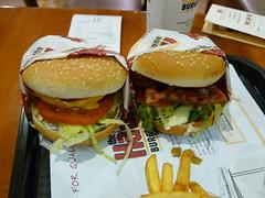 Bacon Cheeseburger and Teriyaki Burger - The Habit - Torrance, CA