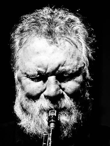 Evan Parker (by Peter Gannushkin)