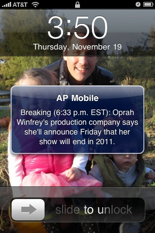 AP thinks this is critical news