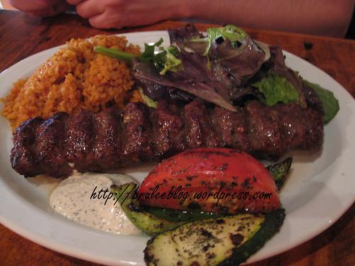 Adana Kebab (spicy beef)