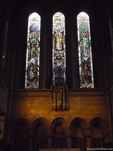 Stained-Glass Windows at the Glasgow University Chapel