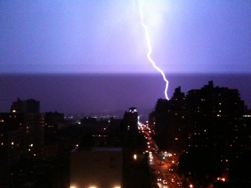 lightning on august 18th