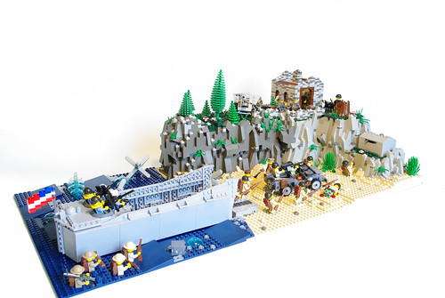 LEGO D-Day Normandy invasion