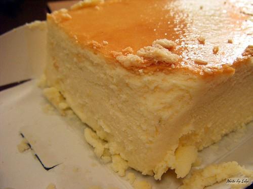 貝克利蛋糕烘培屋之原味起士蛋糕。