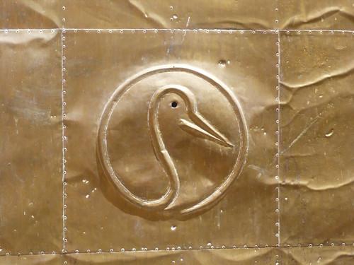 stork plaque