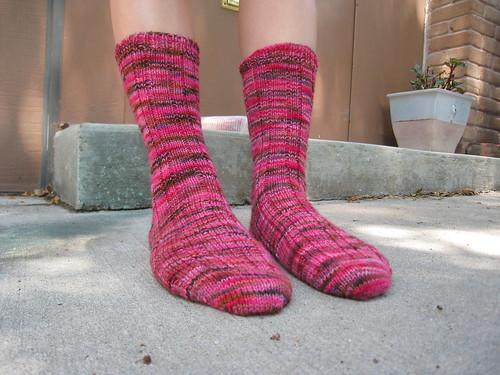FO: Flamingo socks