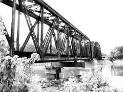 Union Pacific Railroad Bridge, Trinity River, ...