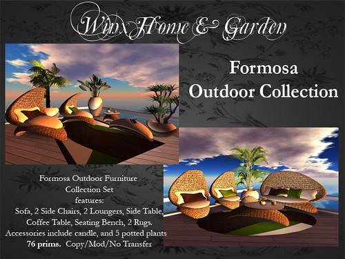 Winx-Formosa Outdoor Furniture Set