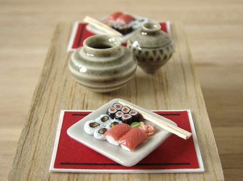 Miniature Sushi For 2