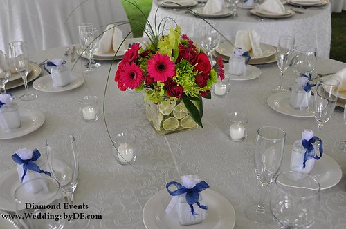 Wedding Centerpiece by Holly Chapple