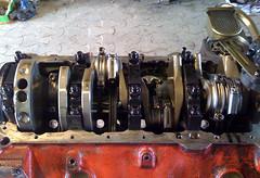 Bottom of Engine