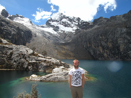 Laguna Churup - 4450m above sea level