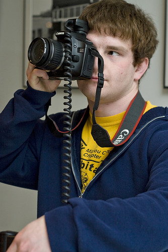This is Darren. He uses Canon, just like me.
