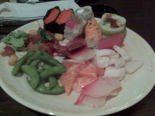 Japanese Buffet...yum!