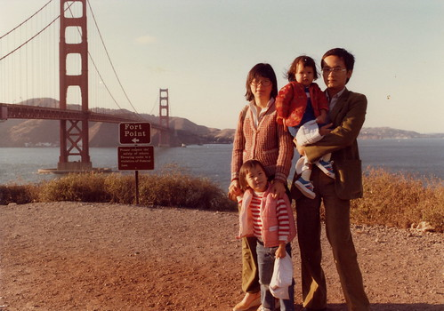 Visiting SF. Im probably 3-4 years old.