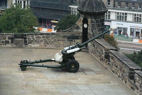 One O'Clock Gun, Edinburgh Castle, Edinburgh