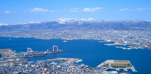 Desde el monte Hakodate.