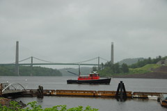 Penobscot Narrows Bridge from Bucksport