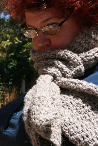 Crocheted Icelandic Scarf