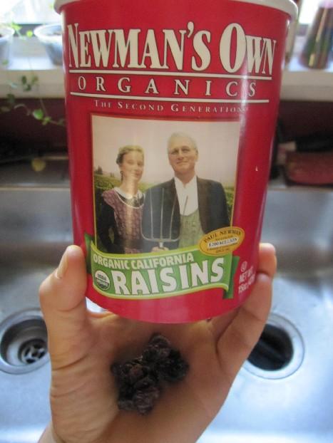 Newman's Own Organics Raisins