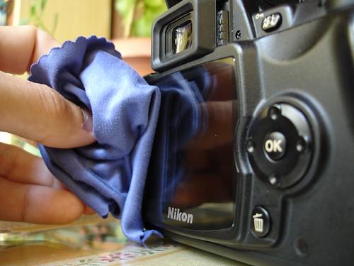 Limpiando la cámara (III)