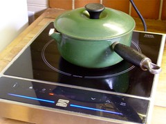LeCreuset on the Induction Cooker