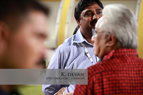 Mr K. Devan, Selangor coach