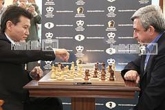 FIDE President Kirsan Iljumzhinov and RA Presi...