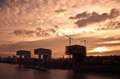 Rheinauhafen Sunset