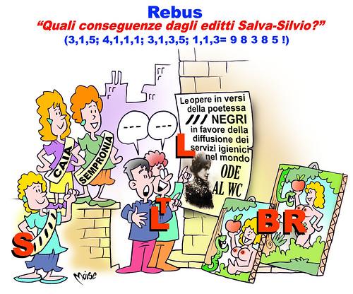SatiRebus - Le conseguenze del Salva-Papi!