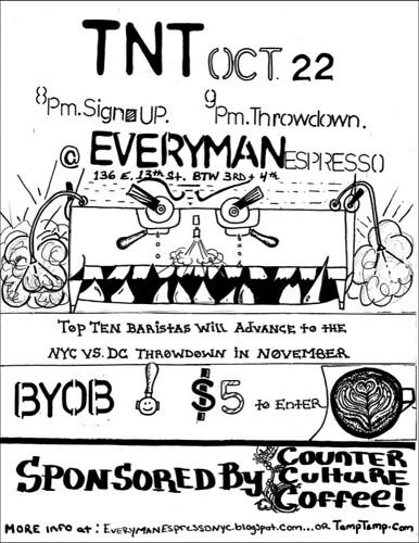 Thursday Night Throwdown NYC 10.22.09